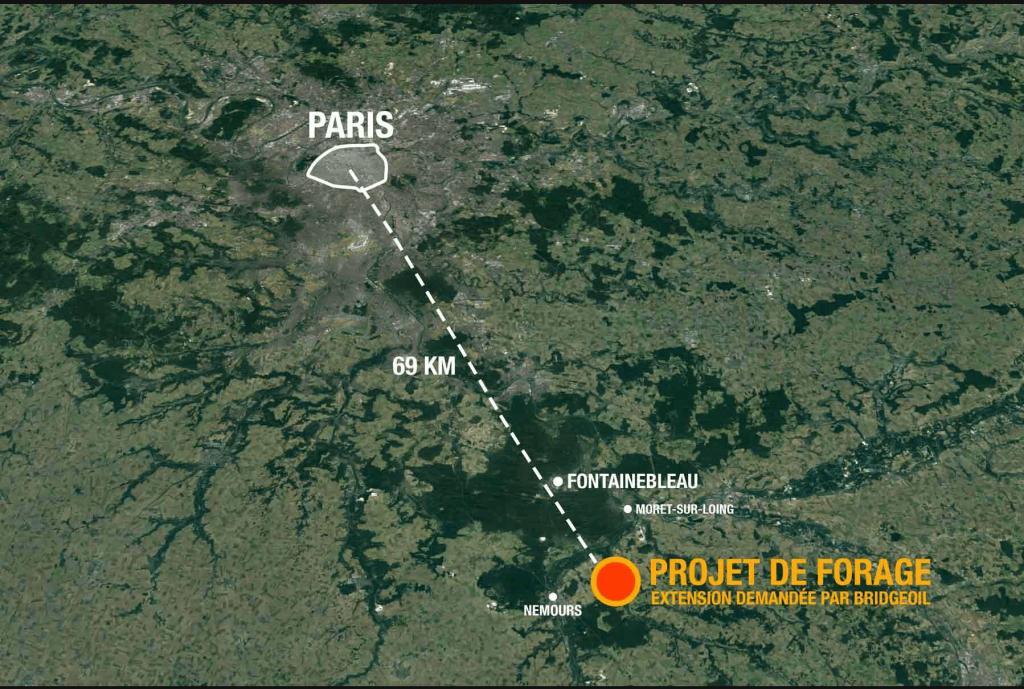 trivellazioni -Fontainebleau