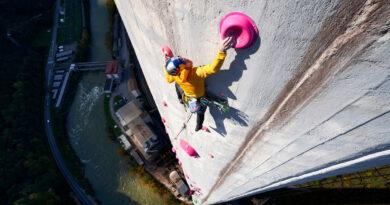 Janja Garnbrett sale la multipich più lunga al mondo
