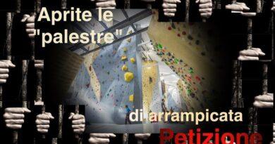 Petizione per le palestre d'arrampicata