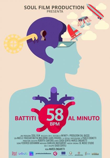 Locandina 58 BPM - Battiti per Minuto