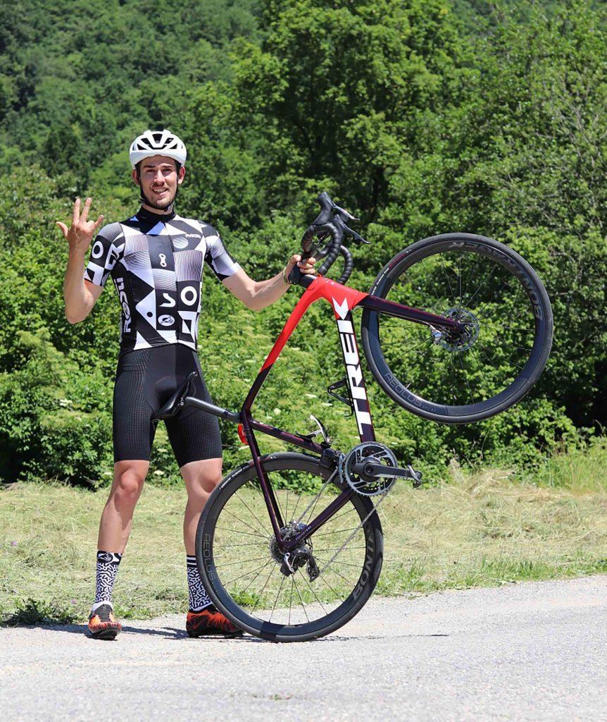 Simone Bonzanni - Da Bergamo alla vetta del Monte Rosa